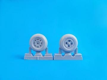 Tempest Mk.II/V/VI - Square Tread Pattern Mainwheels [Special Hobby] · CMK Q32275 ·  CMK · 1:32