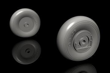 IAR-80A/81 - Early main wheels [Special Hobby] · CMK Q32282 ·  CMK · 1:32