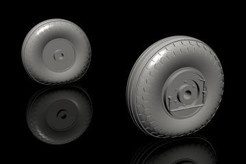 IAR-80A/81 - Mid production main wheels [Special Hobby] · CMK Q32283 ·  CMK · 1:32