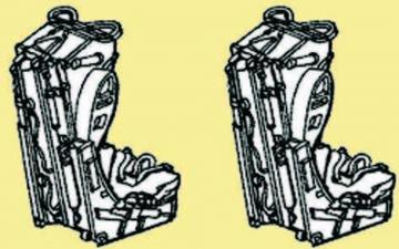 Martin Baker Mk. 4b Ejection Seat · CMK Q48018 ·  CMK · 1:48