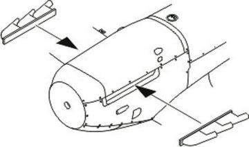 Spitfire Mk.I/Early Mk.V - Exhaust Stubs [Tamiya] · CMK Q48059 ·  CMK · 1:48