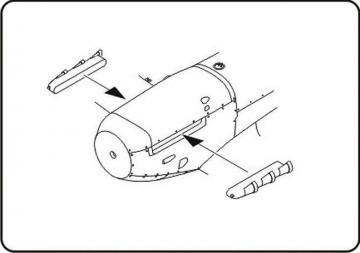 Spitfire Mk.V - Fishtail Exhaust Stubs [Hasegawa/Tamiya /Special Hobby] · CMK Q48060 ·  CMK · 1:48