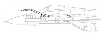 MiG-29SMP/ BM - IFR Probe · CMK Q48194 ·  CMK · 1:48