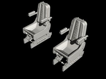 Siebel Si 204/Aero C-3 - Pilots Seats · CMK Q48353 ·  CMK · 1:48