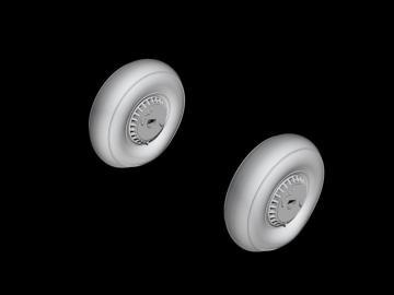 Reggiane Re 2005 - Main Wheels · CMK Q48364 ·  CMK · 1:48