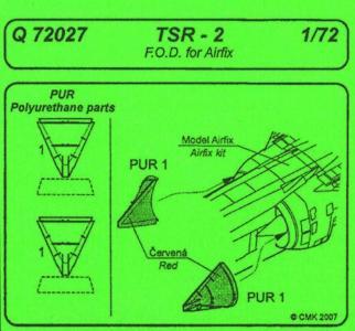 TSR-2 - F.O.D. · CMK Q72027 ·  CMK · 1:72