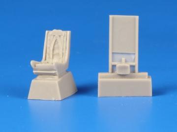 Folland Gnat F.1 - Ejection Seat with Harn Harness [SpecialHobby] · CMK Q72236 ·  CMK · 1:72