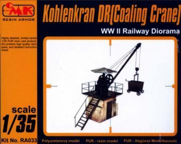 Kohlenkran DR (Coaling Crane) WW II Railway Diorama · CMK RA033 ·  CMK · 1:35