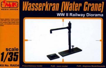 Wasserkran (Water Crane) WW II Railway Diorama · CMK RA034 ·  CMK · 1:35