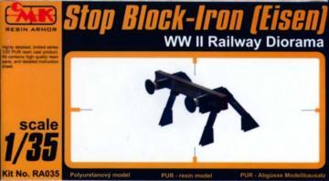 Stop Block-Iron (Eisen) WW II Railway Diorama · CMK RA035 ·  CMK · 1:35