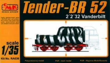 Tender 2´2´32 Vanderbilt · CMK RA036 ·  CMK · 1:35