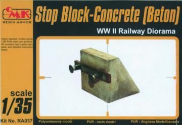 Stop Block-Concrete (Beton) WW II Railway Diorama · CMK RA037 ·  CMK · 1:35