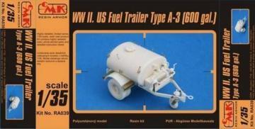 US Fuel Trailer Type A-3 (600 gal.) · CMK RA039 ·  CMK · 1:35