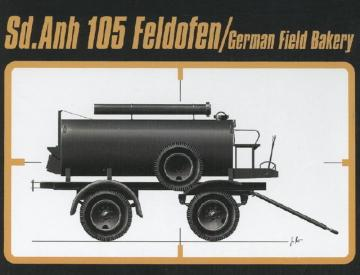 Sd.Anh. 105 German Field Bakery · CMK RA043 ·  CMK · 1:35