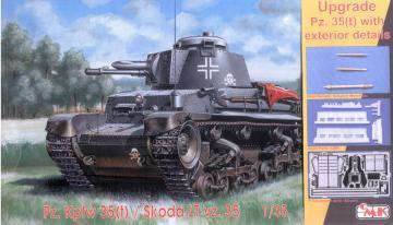 Pz.Kfz. 35(t) - Upgrade - Exterior - Reissue Upgrade Kit · CMK T35024 ·  CMK · 1:35