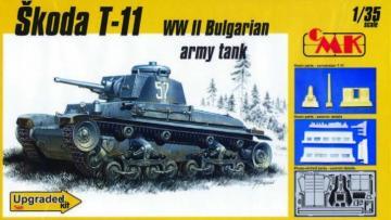 Skoda T-11 Bulgarian Tank · CMK T35026 ·  CMK · 1:35