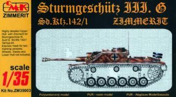 Sturmgeschütz III Ausf. G · CMK ZM35003 ·  CMK · 1:35