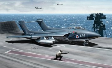 Sea Vixen FAW. 1 Warbirds · DRC 5051 ·  Dragon-Cyberhobby · 1:72