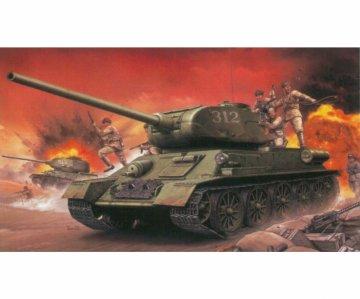 T-34/85 + Chinese Volunteer · DRC 9158 ·  Dragon-Cyberhobby · 1:35
