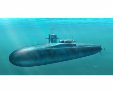 USS Florida SSGN-728 Ohio-class submarine · DR 1056 ·  Dragon · 1:350