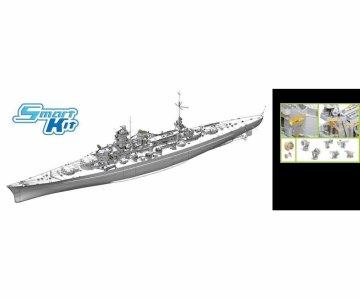 German Battleship Scharnhorst (1940) · DR 1062 ·  Dragon · 1:350