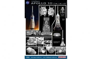Apollo 10 CSM + LM + LES · DR 11003 ·  Dragon · 1:72