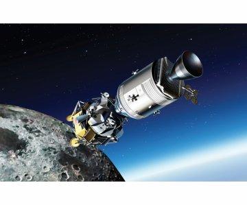Apollo 11 Luna Approach CSM Columbia · DR 11009 ·  Dragon · 1:48