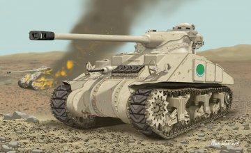 Egyptian Sherman · DR 3570 ·  Dragon · 1:35