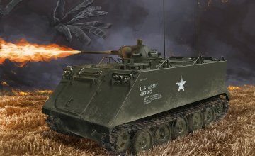 M132 Armored Flamethrower (SmartK) · DR 3621 ·  Dragon · 1:35