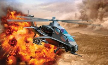 PLA WZ-10 Attack Helicopter · DR 4632 ·  Dragon · 1:144