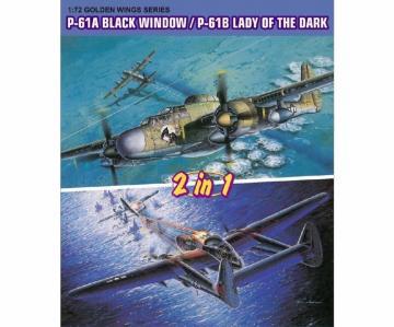P-61A BlackWidow / P-61B Lady of Dark (2in1) · DR 5122 ·  Dragon · 1:72