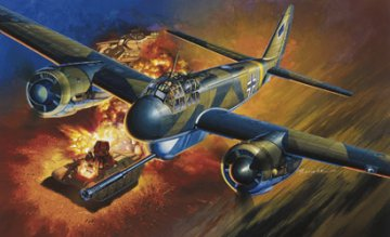 Junkers Ju 88 P-1 with 75mm PaK 40 · DR 5543 ·  Dragon · 1:48