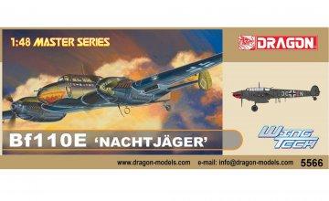 Messerschmitt Bf 110E Nachtjager · DR 5566 ·  Dragon · 1:48