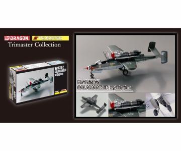 Heinkel He 162A-2 Salamander w/Engine · DR 5576 ·  Dragon · 1:48