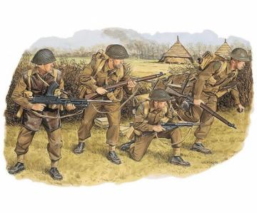 Brit.Commonw.Troops NW EUROPE 1944 · DR 6055 ·  Dragon · 1:35