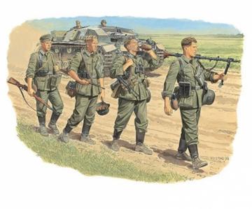 Wehrmacht Infantry (Barbarossa ´41) · DR 6105 ·  Dragon · 1:35