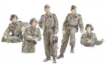 Panzer Crew, LAH Division · DR 6214 ·  Dragon · 1:35