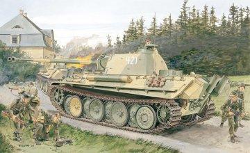 SD KFZ. 171 Panther · DR 6268 ·  Dragon · 1:35