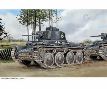 Pz.Kpfw.38(t) Ausf.G w/ Interior · DR 6290 ·  Dragon · 1:35