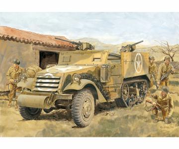 M2A1 Half-Track (2 in 1) M2/M2A1 · DR 6329 ·  Dragon · 1:35
