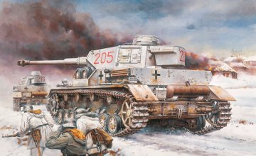 Pz.Kpfw. IV Ausf. G LAH Division Kharkov 1943 · DR 6363 ·  Dragon · 1:35