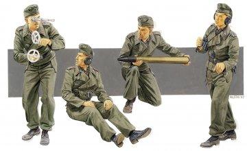 German Self-Probelled Gun Crew · DR 6367 ·  Dragon · 1:35