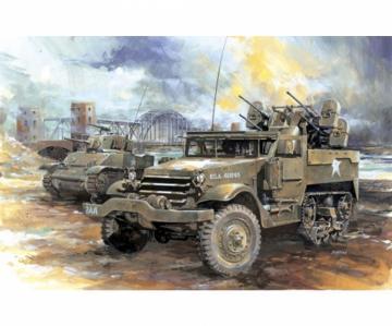 M16 Multiple Cun Motor Carriage · DR 6381 ·  Dragon · 1:35