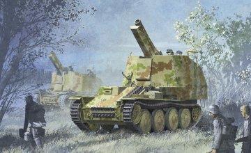 SD.KFZ.138/1 Geschuetzwagen · DR 6429 ·  Dragon · 1:35