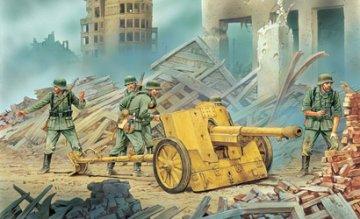 7,5cm PaK 97/38 w/Heer Gun Crew · DR 6445 ·  Dragon · 1:35