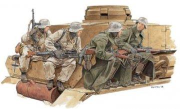 Winter Tank Riders 1943-44 · DR 6513 ·  Dragon · 1:35