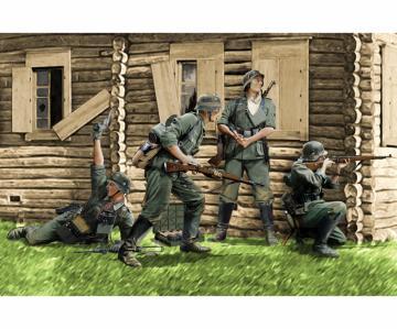 German Infantry Barbarossa 1941 · DR 6580 ·  Dragon · 1:35