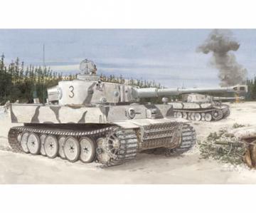 PZ.Kpfw.VI Ausf. E Tiger I Initial · DR 6600 ·  Dragon · 1:35