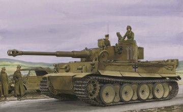 Tiger I Initial Production · DR 6608 ·  Dragon · 1:35