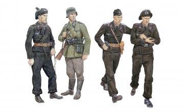 Ghost Division Tank Crew Blitzkrieg · DR 6654 ·  Dragon · 1:35
